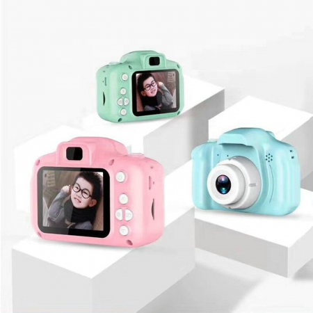 Aparat foto copii Full HD, Digital camera Record LCD , 2.0 inch ,AVI,  jpg, Micro SD, View 140, memorie interna 128M, rezistent la apa [0]