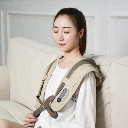 Aparat masaj Shawls, umeri si gat, pentru relaxare si dureri musculare, vibratii intense [6]