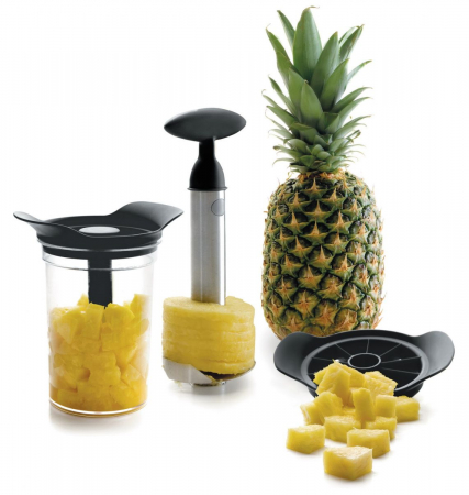 Aparat pentru curatat si feliat ananas [1]