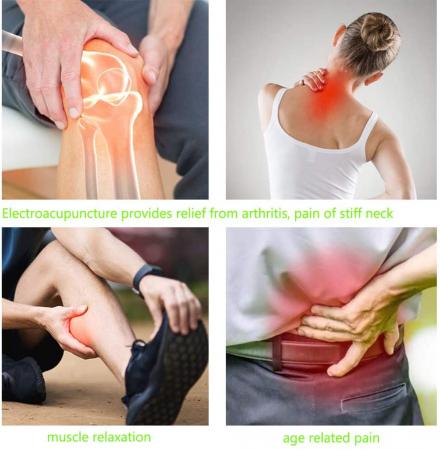 Aparat pentru masaj, acupunctura fara ace, cu 2 capete si afisaj LED Massager Pen [1]