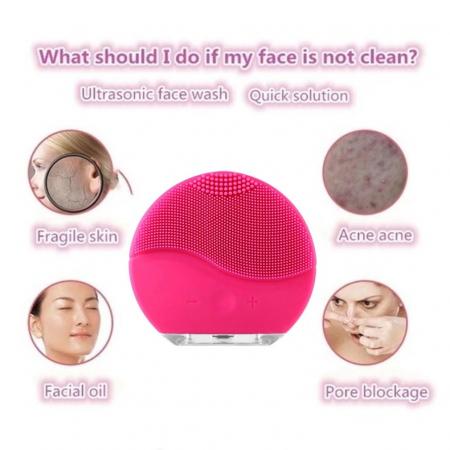 Aparat pentru masaj facial si curatarea tenului, Forever Mini [3]