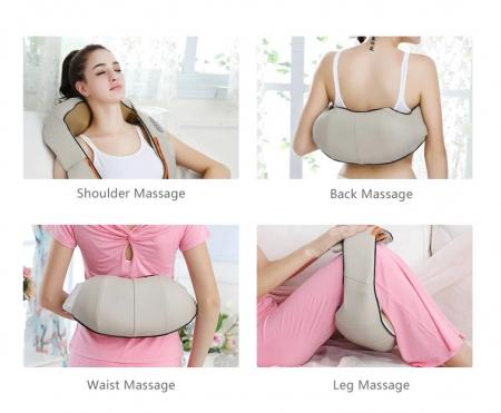 Aparat pentru masaj umeri si gat Massager of Neck Kneading, cu infrarosu [7]