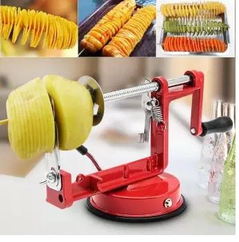 Aparat pentru taiat cartofi in forma de spirala, Spiral Potato Slicer [1]
