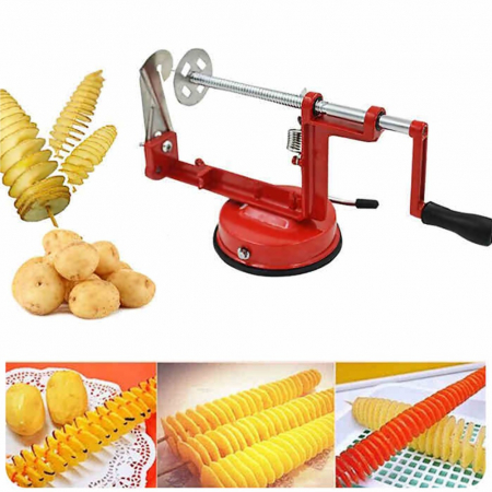 Aparat pentru taiat cartofi in forma de spirala, Spiral Potato Slicer [5]