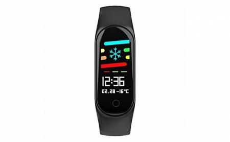 Bratara Fitness M3, monitorizare activitati sanatate, somn, puls, oxigen, ritm cardiac [1]