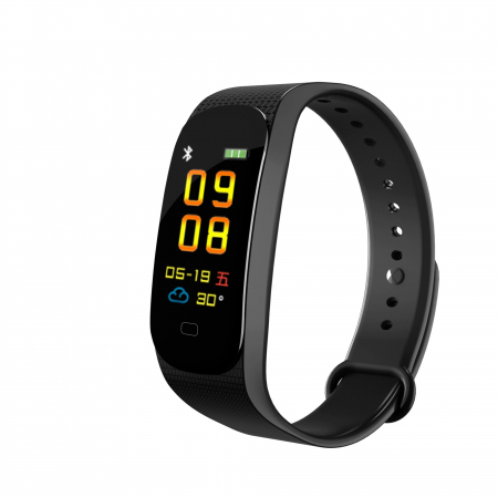 Bratara Fitness M5, monitorizare activitati sanatate, somn, puls, oxigen, ritm cardiac [0]