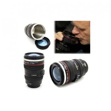 Cana termos in forma de obiectiv foto [4]