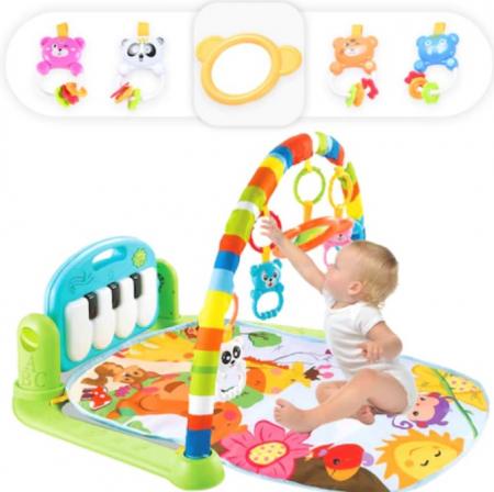 Centru de activitati pentru bebelusi, multifunctional, saltea de activitati, saltea de joaca [1]