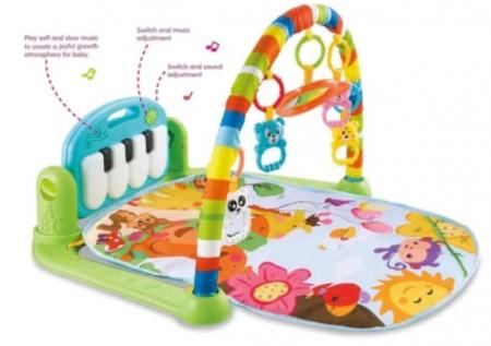 Centru de activitati pentru bebelusi, multifunctional, saltea de activitati, saltea de joaca [4]