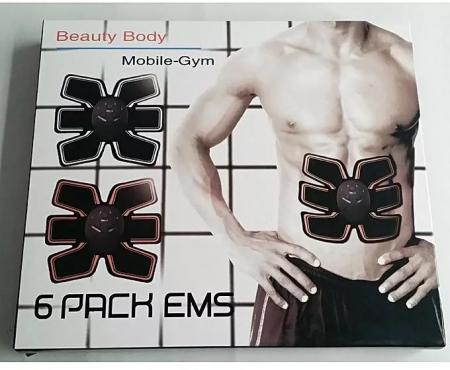 Centura fitness functie de electrostimulare ems 6 pack, EMS [6]