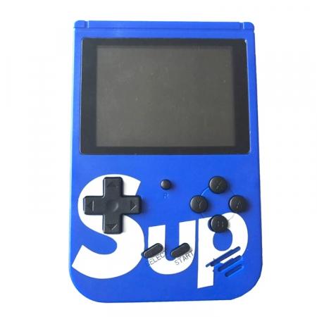 Consola SUP Game Box, 400 jocuri, rotita volum, ecran LCD, cablu AV pentru conectare televizor, incarcare Micro-USB, jocurile copilariei [7]