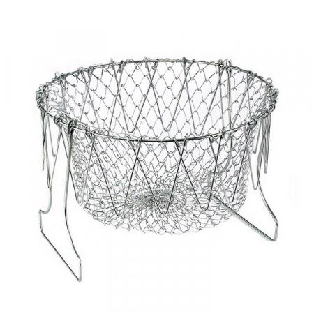 Cos pentru gatit sau scurs, 12 in 1, din inox, Chef Basket [8]