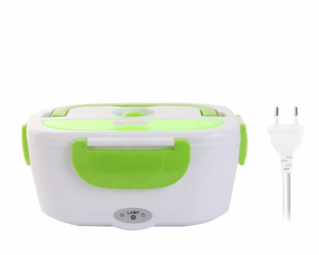 Caserola electrica pentru pranz, caserola cu preincalzire, Electric Lunchbox [2]