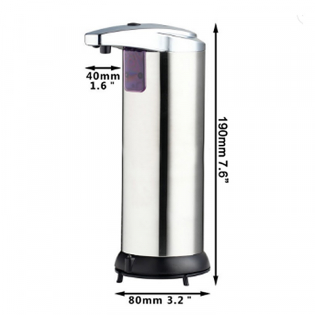 Dispenser sapun automat, din inox [1]