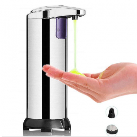 Dispenser sapun automat, din inox [0]