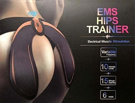 Dispozitiv pentru tonifierea musculara a coapselor prin electrostimulare EMS HIP Trainer [7]