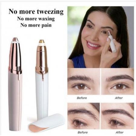 Epilatorul sprancene hipoalergenic, fara durere, Flawless Brows [5]