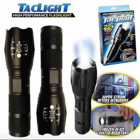 Lanterna tactica SuperLed Tac Light Extreme, functie zoom, 5 moduri [1]