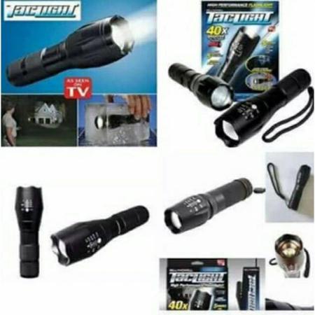 Lanterna tactica SuperLed Tac Light Extreme, functie zoom, 5 moduri [2]