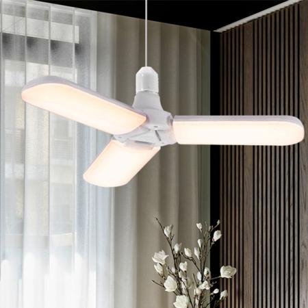 Led cu 3 brate pliabile Fan blade led bulb [2]