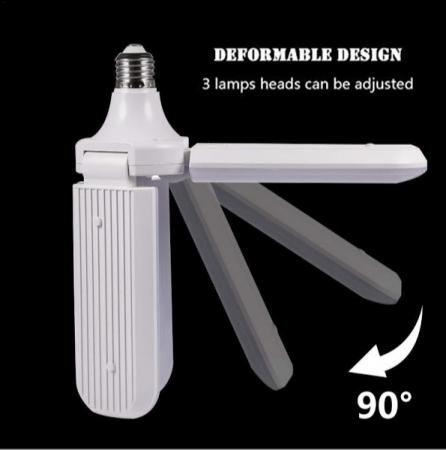 Led cu 3 brate pliabile Fan blade led bulb [5]