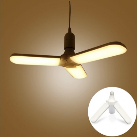 Led cu 3 brate pliabile Fan blade led bulb [3]