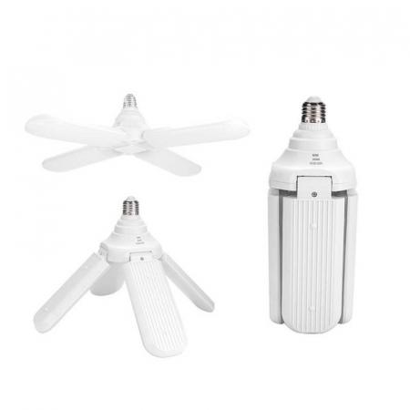 Led cu 4 brate pliabile Fan blade led bulb [9]