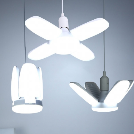 Led cu 4 brate pliabile Fan blade led bulb [8]