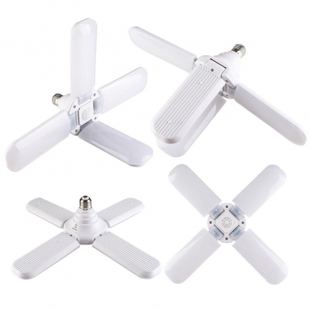 Led cu 4 brate pliabile Fan blade led bulb [1]