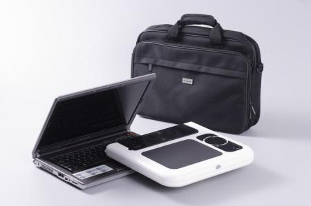 Masa laptop E-Table cu 2 ventilatoare si picioare pliabile [6]