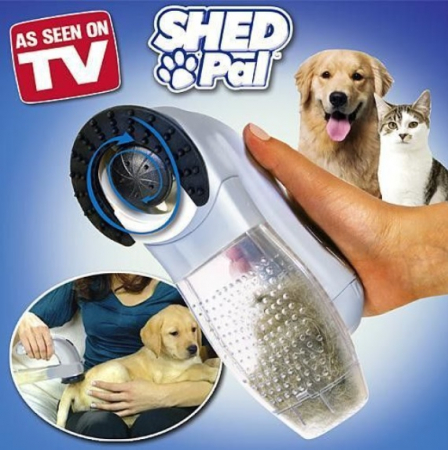 Peria cu vacuum pentru parul de animale, Shed Pal [4]