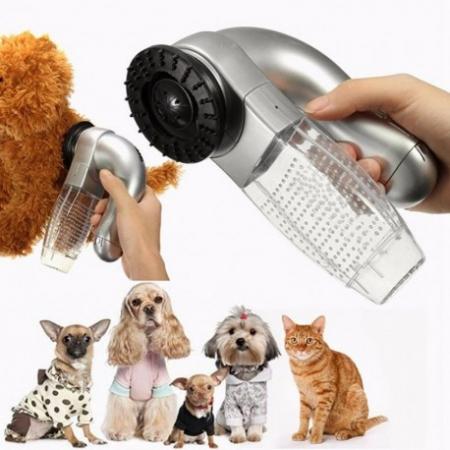 Peria cu vacuum pentru parul de animale, Shed Pal [5]