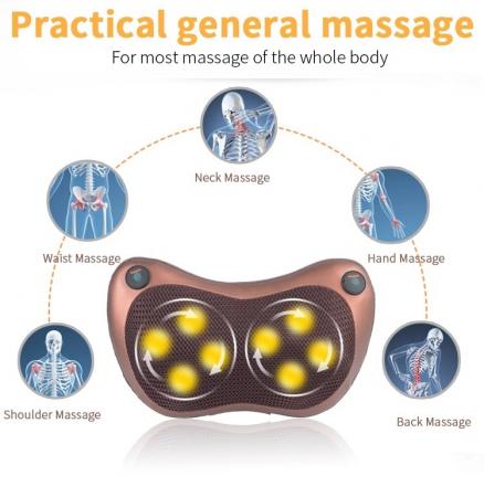 Perna electrica pentru masaj cervical, cu incalzire Massage Pillow [2]