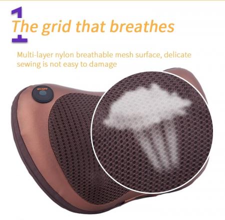 Perna electrica pentru masaj cervical, cu incalzire Massage Pillow [4]
