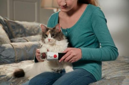 Pila electrica pentru caini si pisici cu 2 viteze si lumina LED, Paw Perfect [4]