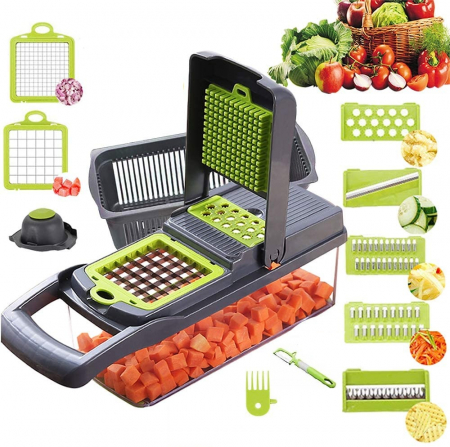Razatoare multifunctionala legume si fructe 14 piese Veggie Slicer [1]
