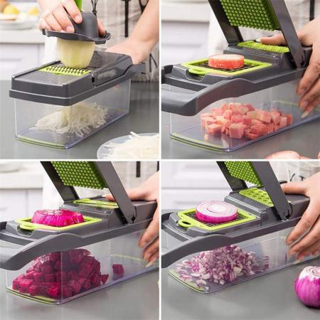 Razatoare multifunctionala legume si fructe 14 piese Veggie Slicer [5]