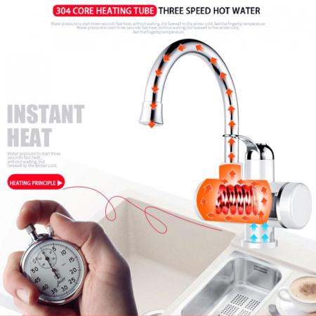 Robinet electric cu incalzire instantanee cu afisaj LED [4]