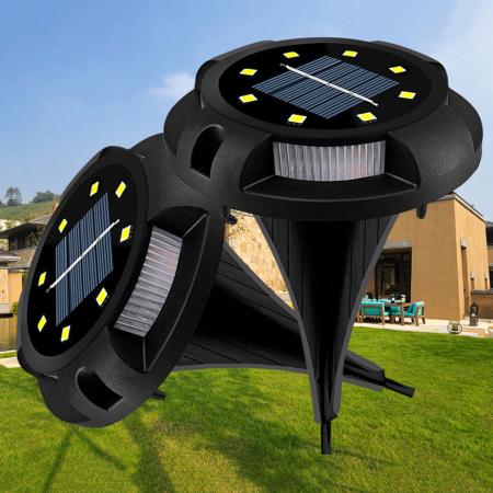 Set 4 lampi solare exterior incorporabile sau aplicabile, terasa sau gradina [1]