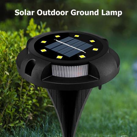 Set 4 lampi solare exterior incorporabile sau aplicabile, terasa sau gradina [3]