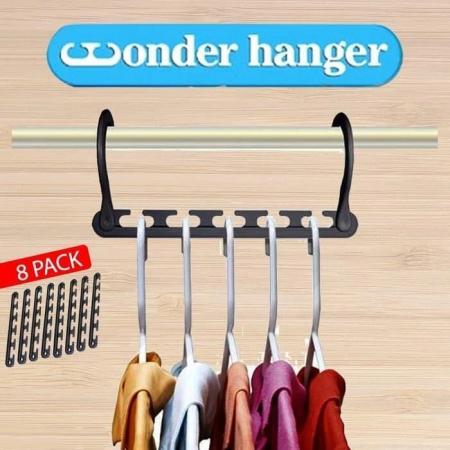 Set 8 x Umerase organizatoare haine, Wonder Hanger [4]