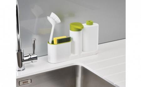 Set dozator detergent MAXI, baie sau bucatarie, Sink tidy sey Plus [0]
