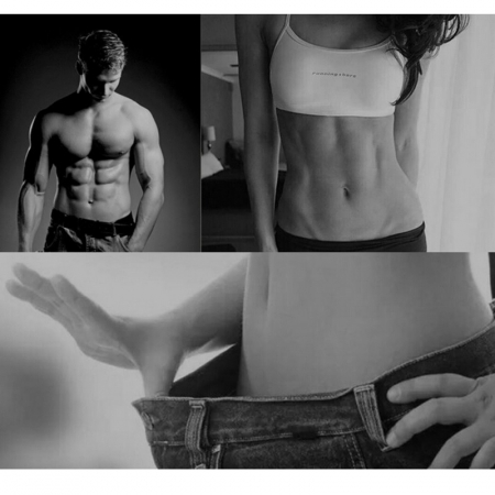 Stimulator Muscular Electric, EMS, Slabit si pus masa musculara, Brate si abdomen [6]