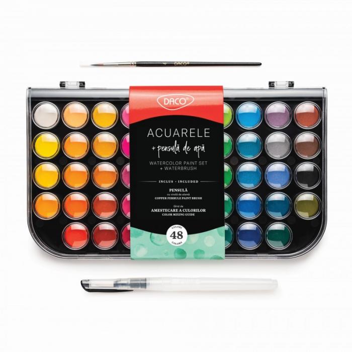 Acuarele 48 Culori Daco AR480 [0]