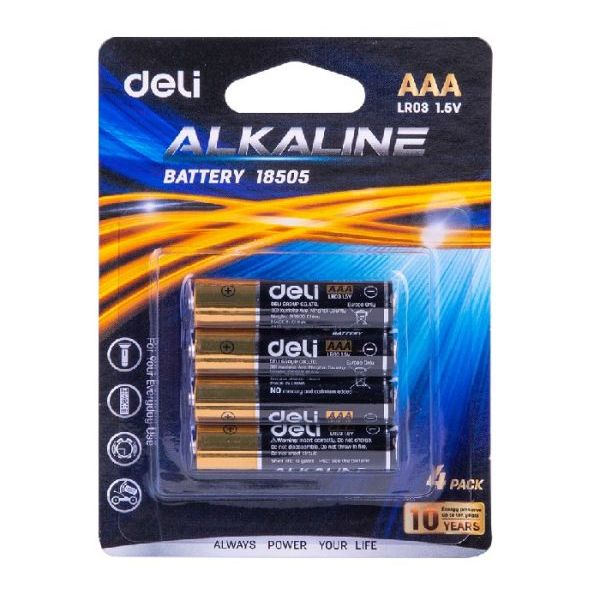 Baterii R3 AAA 4/set Deli [0]