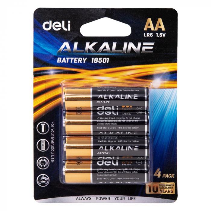 Baterii R6 AA 4/set Deli [0]