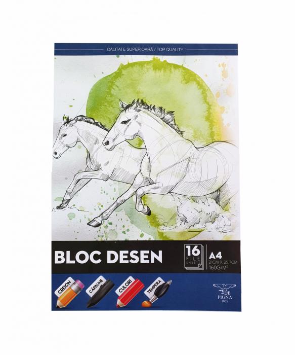 Bloc Desen A4 160g Pigna [0]