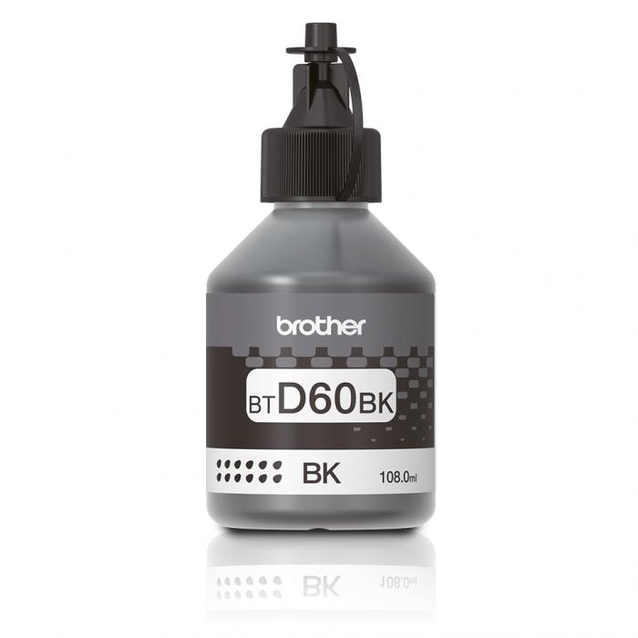 Brother BT-D60BK, Flacon Original Cerneală Black [0]