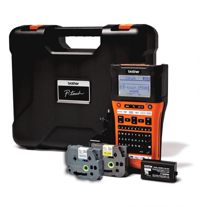 Brother PT-E550WVP, Imprimantă de etichetare industrială [1]