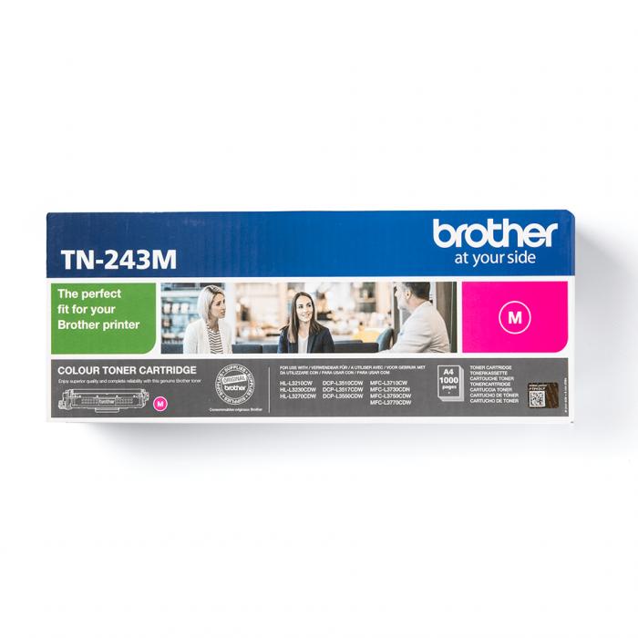 Brother TN-243M, Cartuș Original Toner Magenta [1]